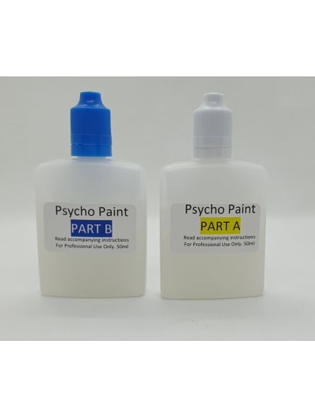 Psycho Paint for Silicone A+B (Clear paint base)